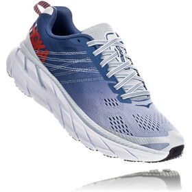 Hoka One One Clifton 6 Chaussures de trail Femme, plein air/moonlight blue